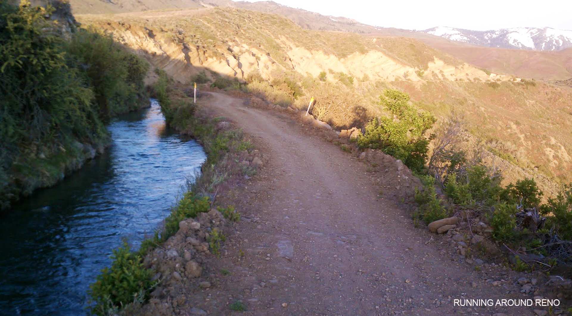 Steamboat Ditch trail