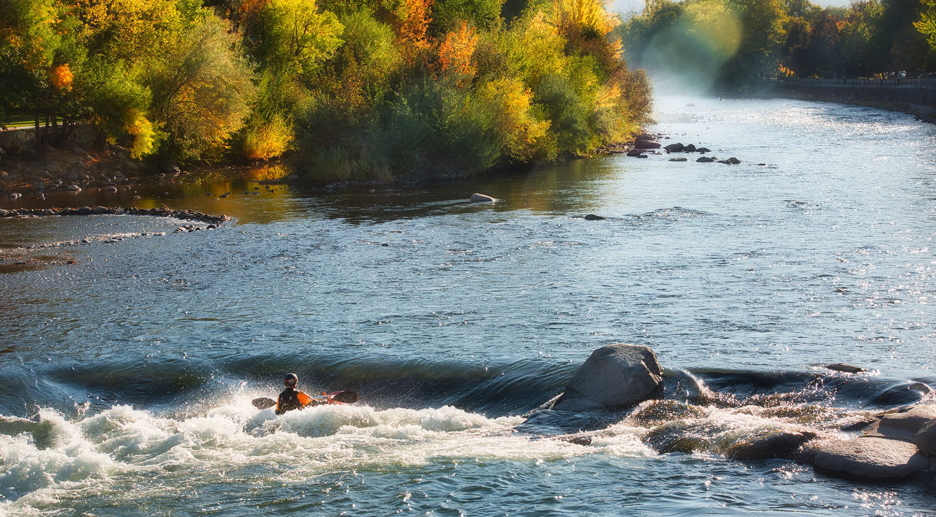 Truckee River kayaker - Scott Mortimore photo